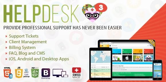 HelpDesk 3 v3.6 – The professional Support Solution