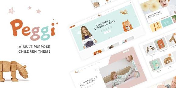 Peggi – Multipurpose Children Theme