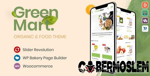 GreenMart Nulled Theme