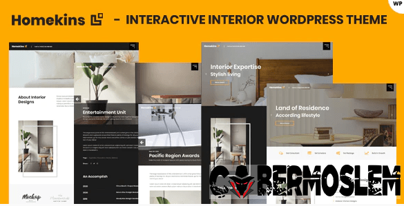 Homekins - Interior WordPress Theme