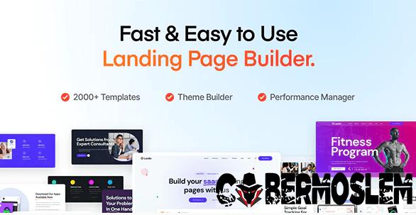 Landio - Multi-Purpose Landing Page WordPress Theme