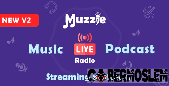 Muzzie - Music, Podcast & Live Streaming Platform
