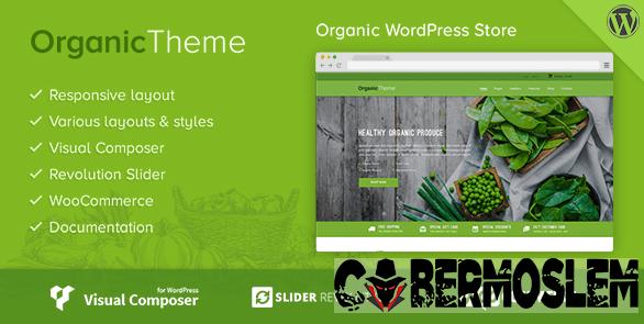 Organic - Farm & Food WordPress Theme