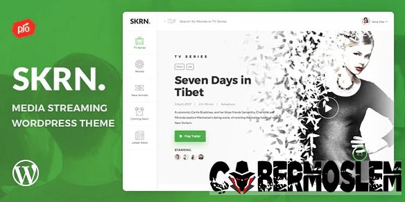 SKRN – Media Streaming App WordPress Theme