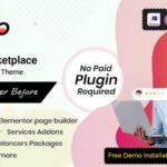 Exterio Freelance WordPress Theme